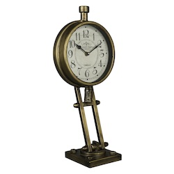 Kasia Table Clock - Metal - 393673