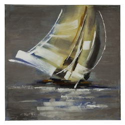 Sail Boat II - Canvas - 393693