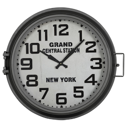 Kendra Clock - Metal - 393718