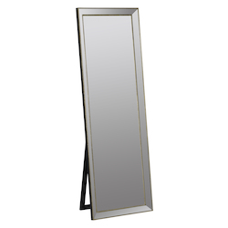 Kyson Standing Mirror - Metal - 393732