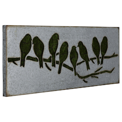 Sparrow Wall Art I - Metal - 393749
