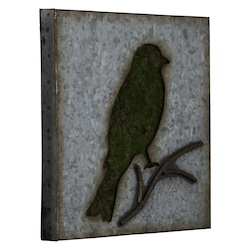 Sparrow Wall Art II - Metal - 393750