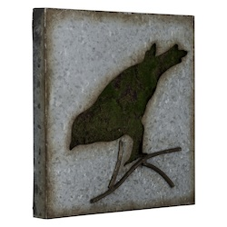 Sparrow Wall Art III - Metal - 393751