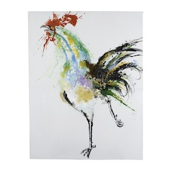 Running Rooster - Canvas - 393756