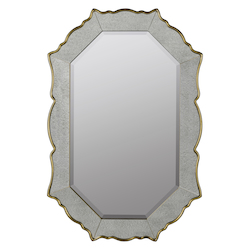 Bianca Mirror - Polyurethane & Glass - 393758