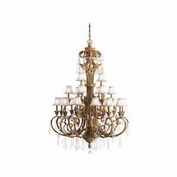 Ravenna Ravenna 3-Tier  Chandelier With 21 Lights - 72In. Chain Included - 54 Inches Wide