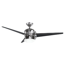 Midnight Chrome Ceiling Fan