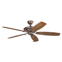 60 Inch Tulle Patio Fan