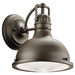 Olde Bronze Hatteras Bay 10In. Energy Efficient Led Outdoor Wall Light