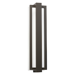 Architectural Bronze Sedo 24In. Energy Efficient Led Outdoor Wall Light