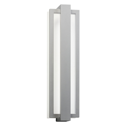 Twelve Light Platinum Wall Light