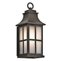 Olde Bronze Pallerton Way Collection 14.25In. Outdoor Wall Light
