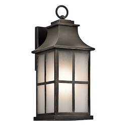 Olde Bronze Pallerton Way Collection 17.5In. Outdoor Wall Light