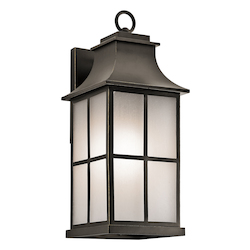 Olde Bronze Pallerton Way Collection 20.25In. Outdoor Wall Light