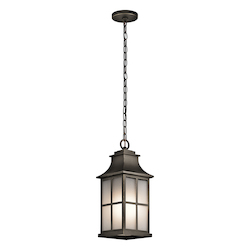 Olde Bronze Pallerton Way 1 Light Outdoor Pendant Light