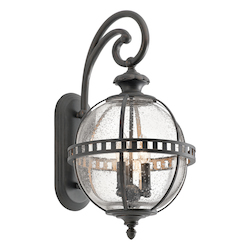 Londonderry Halleron Collection 2 Light 23In. Outdoor Wall Light