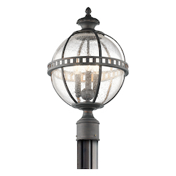 Londonderry Halleron Collection 3 Light Outdoor Post Light