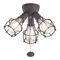 Industrial 3 Light Fixture