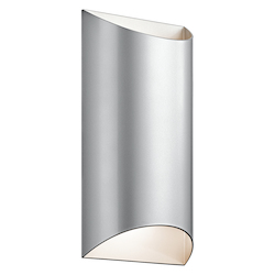 Platinum Wesly 2 Light 7In. Wide Led Ada Compliant Wall Sconce With Metal Shade