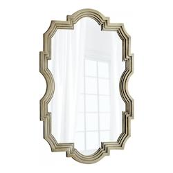 Silver Oxide 47.25 x 31.5 Bancroft Specialty Wood Frame Mirror