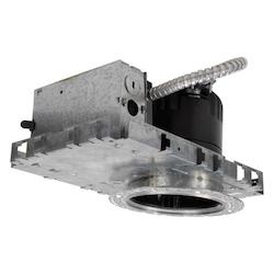 Ledme 4In. Recessed Downlight With Emergency Backup - New Construction Invisib