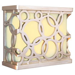 Hand Carved Circular Design Led Illuminated Chime