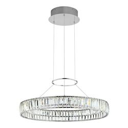 Elan 83625 Chrome Annette Large Pendant - 405443