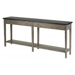 Antique Ebony / Natural Westrow Console 75