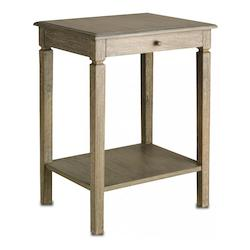 Natural Walton Side Table with Rectangular Top