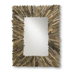 Natural Wood/Mirror 51