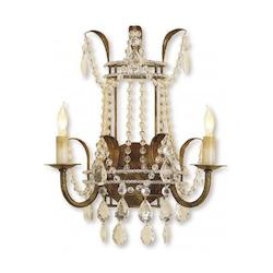 Rhine Gold Laureate Wall Sconce