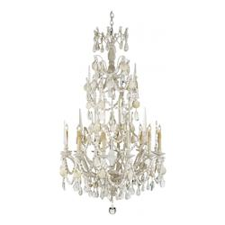 Natural Buttermere 8 Light Chandelier in Natural Finish