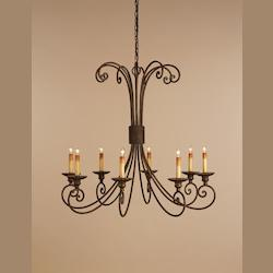 Satin Black / Antique Brushed Nickel Ruhl 1 Light Pendant
