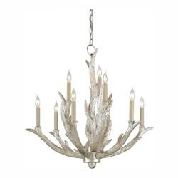 Silver Granello Haywood 9 Light 27