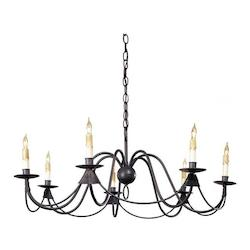 Antique Bronze French Nouveau Chandelier with Customizable Shades