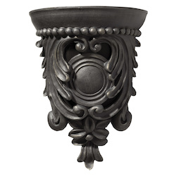 Carved Corbel - Bronze;Wireless Chime