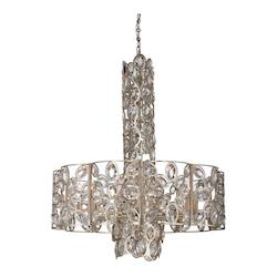 Crystorama Sterling 10 Light Distressed Twilight Chandelier