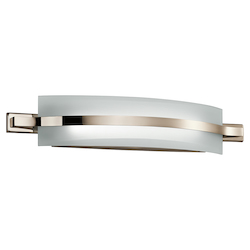 Polished Nickel Freeport Led Bathroom Vanity Light