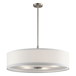 Brushed Nickel Signature 5 Light Pendant