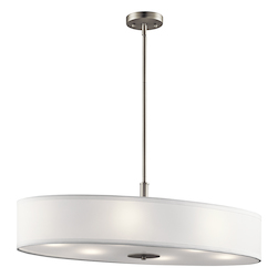 Brushed Nickel Signature 6 Light Pendant