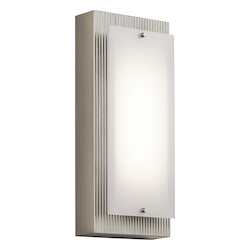 Brushed Nickel Vego Ada Led Wall Sconce
