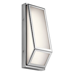 Chrome Savoca Ada Led Wall Sconce