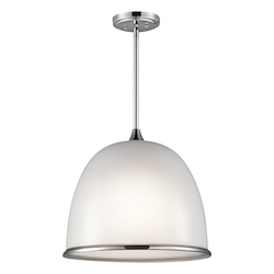 Chrome Rory 3 Light Pendant