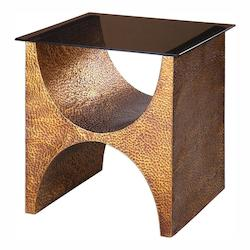 Rafaele Copper Accent Table