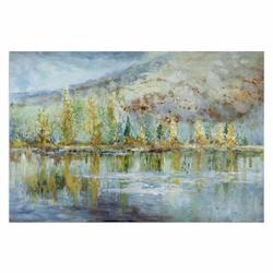 Autumn Reflection Landscape Art