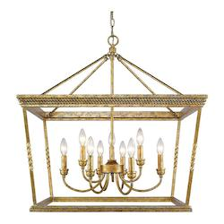2 Tier - 9 Light Chandelier