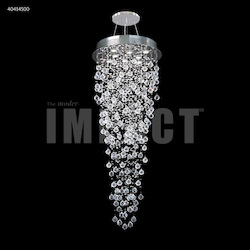 Crystal Rain Entry Chandelier