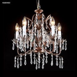 5 Arm Mini Crystal Chandelier