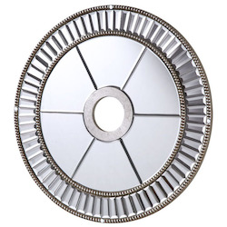 Mirror Medallion D24In. Sc