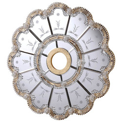 Mirror Medallion D24In. Gc
